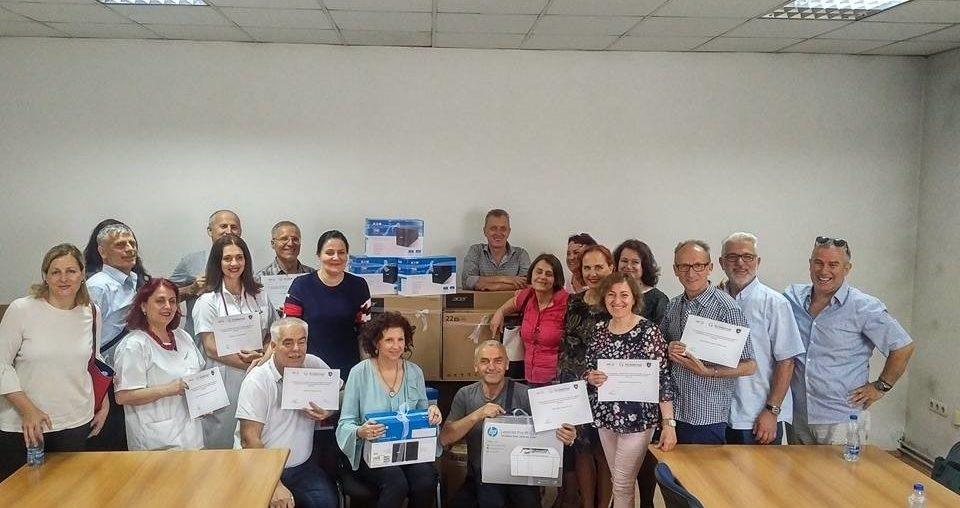 CDF donates IT equipment to Regional TB Centers