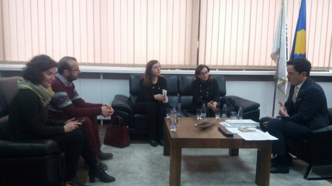 The Program Advocacy Group (PAG) members met with the Ombudsperson of Kosovo