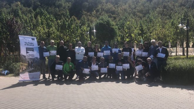 Guides of Mountain Biking in Kosovo and Albania get certified