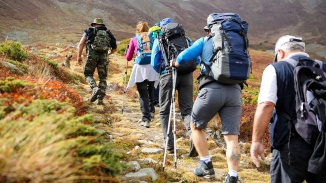 Mountaineers promote the touristic attractions of Dukagjini