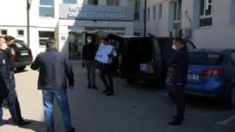 CDF supports the health system through donating protecting equipment in Kosovo